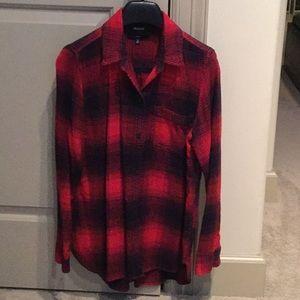 Madewell flannel shirt.